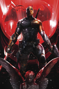 Deathstroke Comic Art