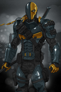 1080x2280 Deathstroke Dc Comics Art