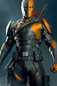 240x320 Deathstroke Digital Fan Art 4k