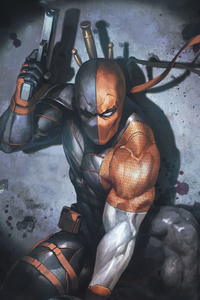Deathstroke Gun Up