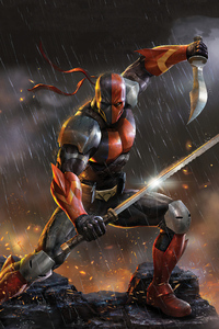 2160x3840 Deathstroke Knights And Dragons 5k