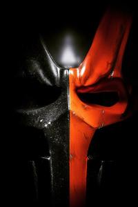 Deathstroke Mask 4k