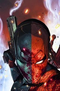 Deathstroke New Art