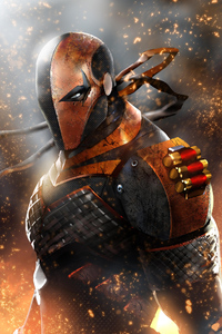 1080x2280 Deathstroke New Arts