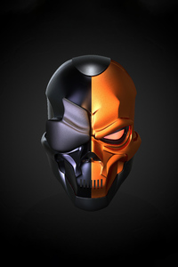 750x1334 Deathstroke Skull Helmet 5k