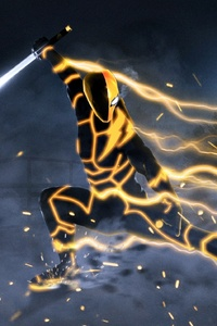 Deathstroke Speedster Artwork