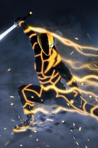 720x1280 Deathstroke Speedster Artwork