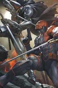 Deathstroke Vs Batman Knight