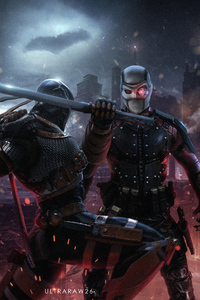 Deathstroke Vs Deadshot