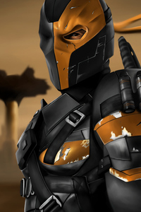 1242x2688 Deathstroke Zack Snyders Justice League 2021