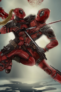 Dedpool Vs Lady Deadpool