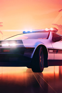 1080x1920 Delorean Hot Pursuite