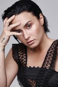 Demi Lovato Refinery29 Photoshoot