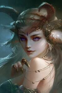 1080x1920 Demon Beautiful Girl