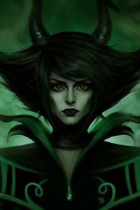Demon Fantasy Green Horns