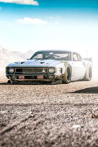 320x480 Desert Cowbois Cars 4k