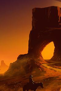 Desert Gate 4k