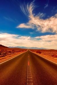 360x640 Desert Highway Road