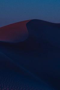480x854 Desert Hills Dusk Sand Dunes 8k