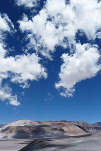 480x854 Desert Mountains Countryside Arid Land 8k