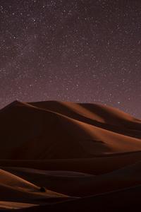 Desert Nightime Stars 5k