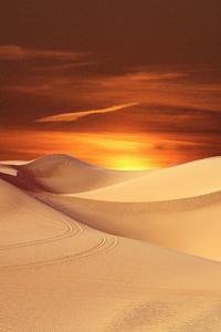 Desert Sand Landscape 5k