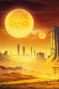 Desert Sunset 4k