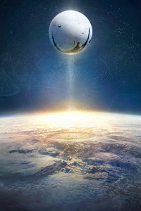 240x320 Destiny 2 5k Poster