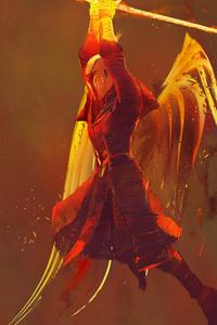 1440x2560 Destiny 2 Warlock Artwork