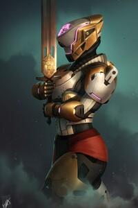 Destiny Titan Art