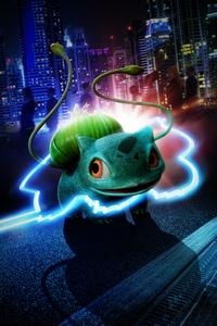 320x480 Detective Pikachu Bulbasaur 5k