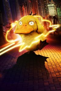 320x480 Detective Pikachu Koda Duck