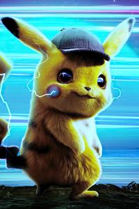 1125x2436 Detective Pikachu Poster 4k