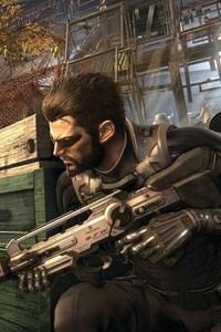 640x960 Deus Ex Mankind Divided Game Art