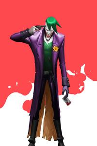 1080x2280 Devil Joker Minimal 4k
