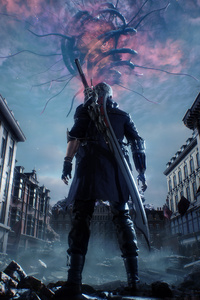 Devil May Cry 5 Key Art 4k