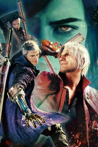 1125x2436 Devil May Cry 5 Special Edition