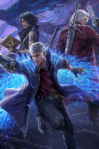 Devil May Cry Pack Teppen 4k