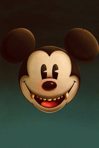 2160x3840 Devil Mickey Mouse