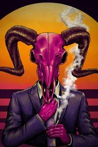 Devil Skull 4k