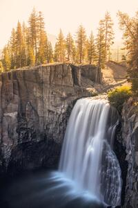 480x800 Devils Postpile National Monument Waterfall