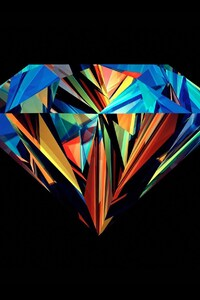 240x320 Diamond Abstract