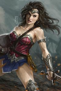 Diana Prince Wonder Woman Art