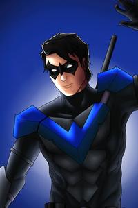 1440x2960 Dick Grayson Nightwing