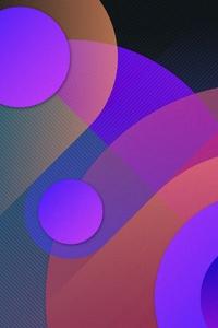 Digital Abstract Shapes Art