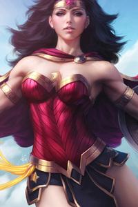 Digital Art Of Wonder Woman