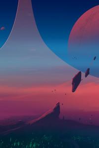 Digital Art Planet World