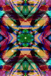 800x1280 Digital Flower Abstract Art 4k