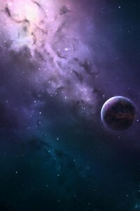 320x480 Digital Universe Galaxy