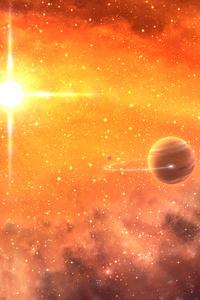 1080x1920 Digital Universe Vacation 4k